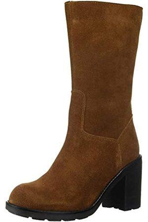 LFL by Lust for Life Damen Stiefel - Damen L-Magnum Mid Calf Boot Tan Wildleder 36 M EU (6 US)