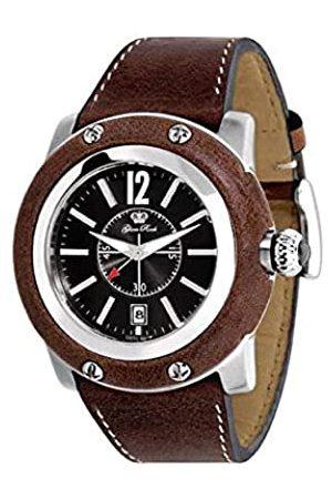 Glam Rock Damen-Armbanduhr XL Analog Leder GR10011