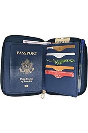 LaRolls Damen Reisetaschen - Reisepasshülle mit RFID-Kartenfächern