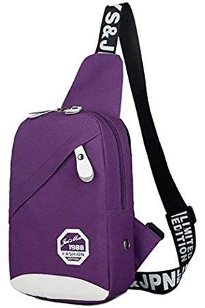 Yeefay Sling Bag Kleiner Rucksack Brust Crossbody Schulter Sling Rucksack für Damen und Herren