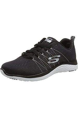 Skechers Damen Schuhe - Damen Valeris Sneakers, (BKW)