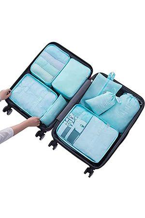 SIPLIV 8 Set Gepäck Organizer Tasche Multifunktionale Reise Aufbewahrungstaschen Reisetaschen