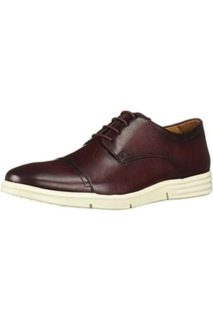 Driver Club USA Herren Leather Columbus Circle Light Weight Technology Cap Toe Oxford Laceup Turnschuh
