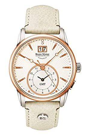 Soehnle Bruno Söhnle Damen Analog Quarz Uhr mit Leder Armband 17-63154-241