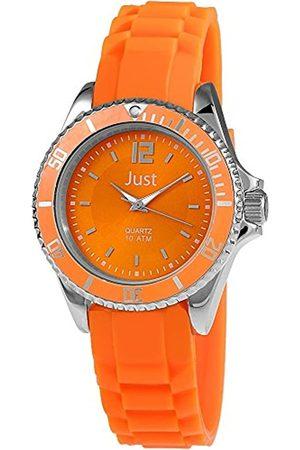 Just Watches Damen-Armbanduhr Analog Quarz Kautschuk 48-S3857-OR