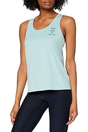 AURIQUE Amazon-Marke: Damen Yoga-Top mit Slogan und Rückenausschnitt, 38