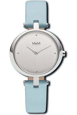 M&M Damen Uhren - DamenAnalogQuarzUhrmitLederArmbandM11931-842