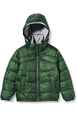 Sanetta Jungen Outdoor Jacke Cross Green Warme Winterjacke in Dunkelblau Kidswear in einem sportiven Look mit Abnehmbarer Kapuze