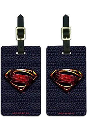 Graphics and More Gepäckanhänger mit Superman-Logo, Aufschrift Justice League
