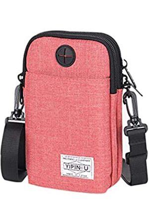 ZGMYC 3-lagige wasserdichte Handy-Tasche für Damen und Herren, Oxford-Gewebe, Gürteltasche