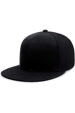 CHOK.LIDS Baseballkappe mit flachem Schirm, klassischer Snapback-Hut, blanko, verstellbar, trendiger Farbstil