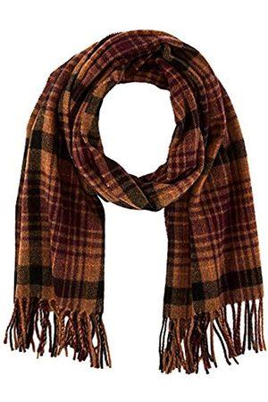 Scotch&Soda Damen Schals - Mens Karierter Schal aus weicher Wollmischung Belt