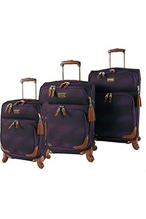 Steve Madden Reisetaschen - Designer Gepäckkollektion – 3-teiliges Softside-Erweiterbares, leichtes Spinnerkoffer-Set – Reise-Set beinhaltet 50,8 cm Handgepäck, 61 cm & 71