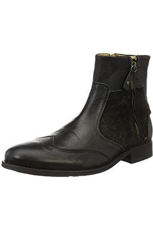 Yellow Cab Damen Stiefeletten - Herren Cold M Kurzschaft Stiefel, (Black)