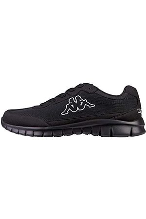 Kappa Damen Schuhe - ROCKET Low Top | Sneakers für Sport & Freizeit | angesagter -Style für Modebewusste Damen & Herren | atmungsaktiv & stabil | (1111 Black)