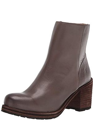 Frye Damen Karen Inside Zip Short Ankle Boot, Grau (hellgrau)