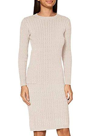 Apart Damen Freizeitkleider - APART trendiges Damen Kleid, Strickkleid, mit Kaschmir-Anteil, Zopfmuster Allover, figurbetonende Form