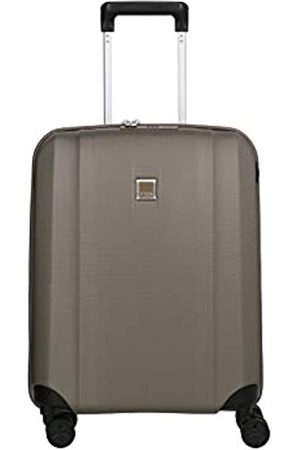 Titan 4-Rad Koffer Handgepäck mit TSA Schloss + USB-Schleuse, erfüllt IATA-Bordgepäckmaß, Gepäck Serie XENON: Kratzfeste Hartschalen Trolleys, 849406-40, 55 cm