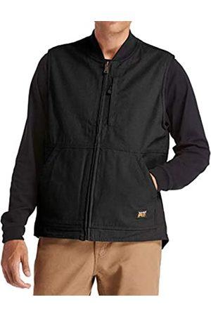 Timberland PRO Herren Lined Canvas Vest, Large Gritman Gefütterte Jacke aus Leinen