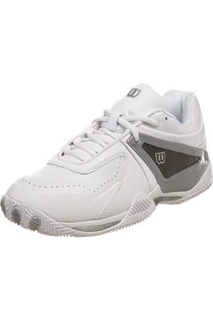 Wilson Women's Trance Strike Tennis Shoe,White/Silver