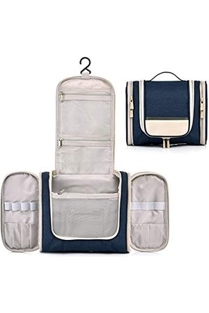 CaweyLife Kulturbeutel zum Aufhängen, mit Seitentaschen, kleine Kosmetiktaschen für Damen, kompakte Größe, Herren