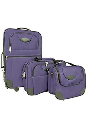 ABC Home Living Reisetaschen - Reisekoffer Reisetaschen Trolley 3er Set Koffer-Set, 57 cm