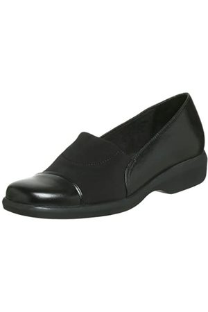 Walking Cradles Women's Icon Stretch Casual Loafer,Black