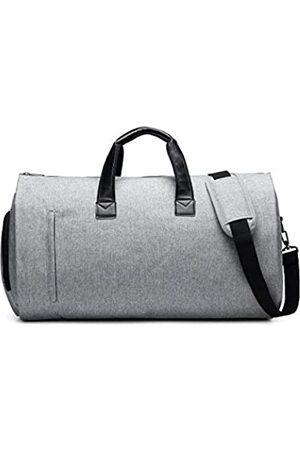 NoBrand Anzug-Reisetasche mit Schulterriemen, Handgepäck für Herren und Damen – 2-in-1 Hängekoffer über Nacht