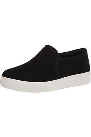 Blondo Damen Slipper Sneaker, Schwarz (Schwarze Velourslederoptik)