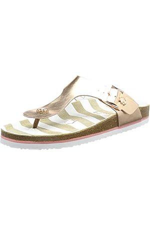 TOM TAILOR Damen 1193402 Flache Sandale
