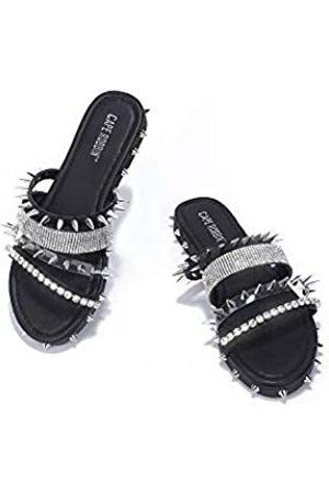 Cape Robbin Xtreme Sandalen Slides für Damen, Nieten, Pantoletten, Schlupfschuhe