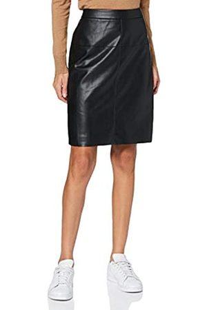 Apart Damen Fake Leather Skirt Rock