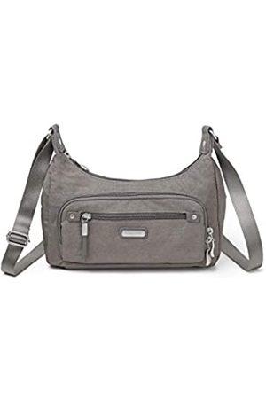 Baggallini Damen RFID Everyday Traveler Bag, (Sterling Shimmer)