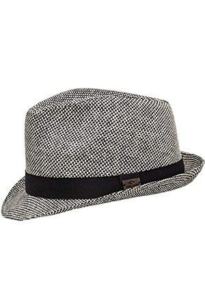 Chillouts Herren Limerick Panama-Hut, 11 Black/White