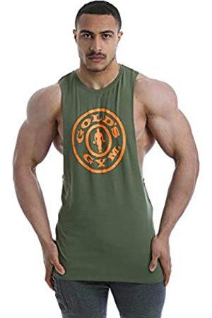Golds gym Herren Gold's Gym GGVST142 Mens GymSoft Vest Weste