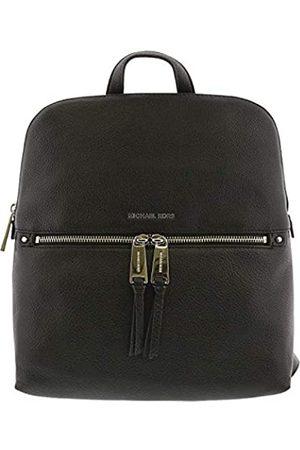 Michael Kors Rhea Zip Medium Slim Backpack - Black
