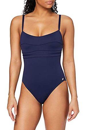 Haute Pression Damen A1001 - Maillot de bain une pièce - Uni - Femme - Bleu