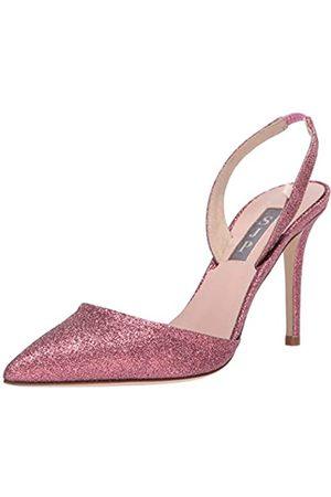 Sjp Damen Bliss 90 Pointed Toe Sling-Back Pump Pumps, pink, Glitter