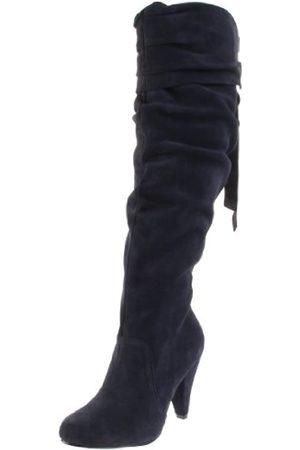 NAUGHTY MONKEY Damen Fearless Kniehohe Stiefel, (Navy)