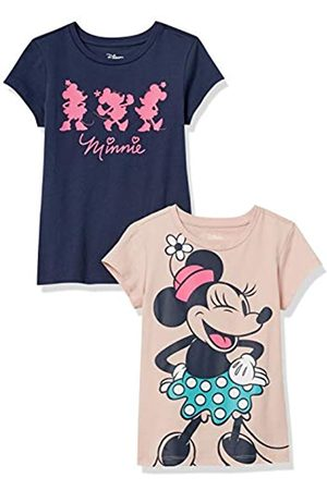 Amazon Disney Star Wars Marvel Princess Short-Sleeve fashion-t-shirts, 2-Pack, mehrfarbig (Forever Minnie)