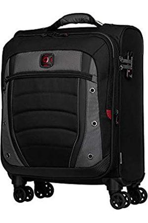 "Wenger Synergy 20"" Expandable Softside Luggage Carry-On - Grey/Black Koffer, 54 cm"
