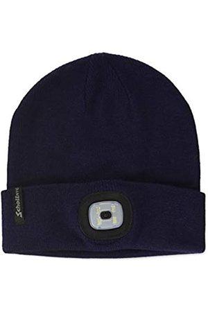 Schott NYC Herren Hatbeanieled Beanie Mütze