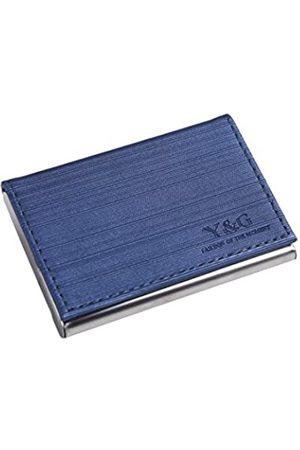 Y & G Herren-Visitenkartenhalter aus Kunstleder mit Magnetverschluss