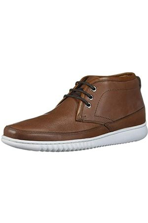 Driver Club USA Herren Sneakers - Herren Geuine Leather Ankle Chukka Boot with Sneaker Sole Stiefelette