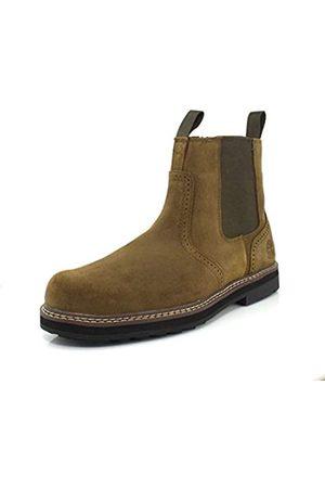 Timberland Herren Pull Chelsea Boot, Grün (olivgrün)