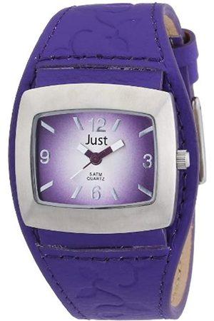 Just Watches Damen-Armbanduhr Analog Quarz Leder 48-S8978-PR