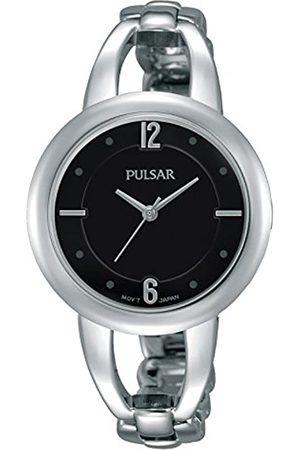 Seiko Damen Analog Quarz Uhr mit Edelstahl beschichtet Armband PH8205X1