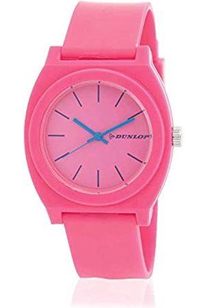 Dunlop Unisex Erwachsene Analog Quarz Uhr mit Plastik Armband DUN183L05