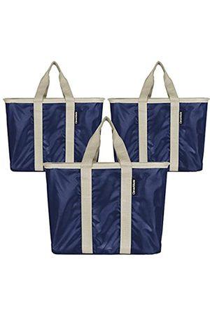 CleverMade Shopper - Unisex-Erwachsene 20L SnapBasket Wiederverwendbare Einkaufstaschen