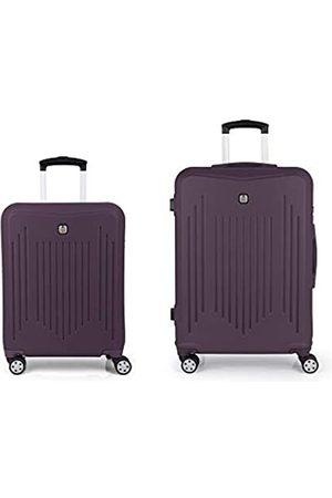 GABOL Reisetaschen - – Clever   Reisekoffer-Set, starr, violett